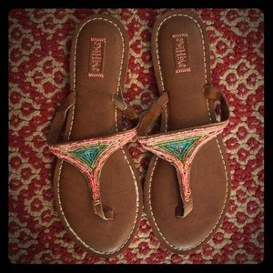 Women's size 11 Mad Love Sandals by Target NWOT